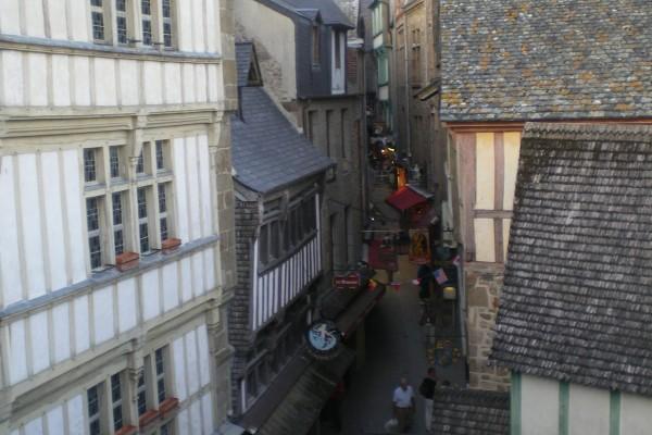 Führung in der Abtei von Mont-Saint-Michel